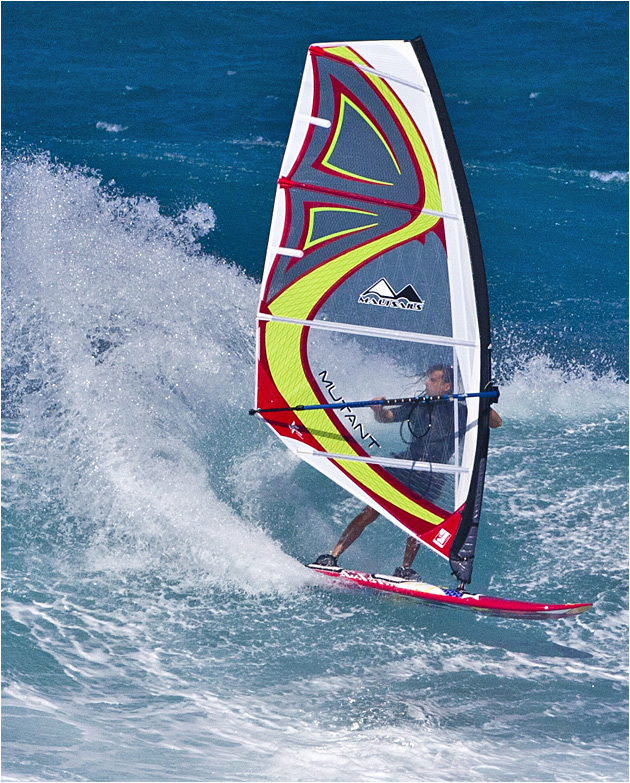 Mutant - 4 battens wave sail from MauiSails