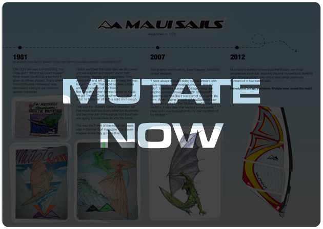 Mutate Now - sail presentation