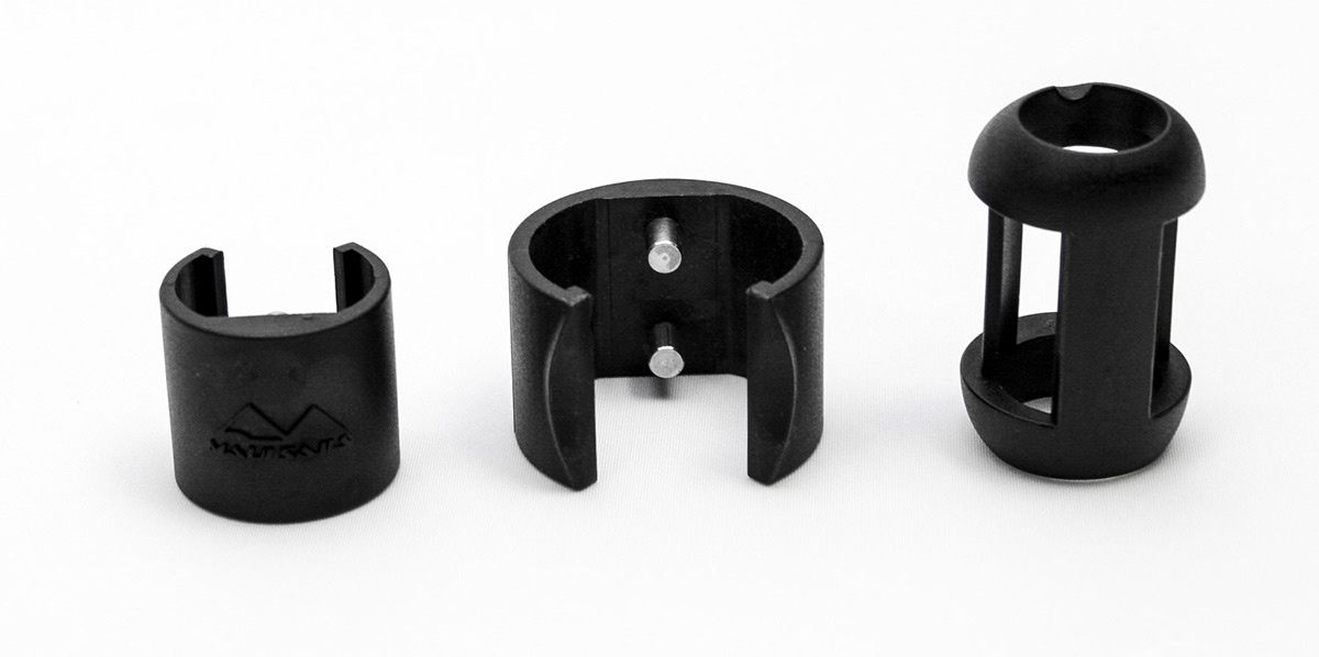 Carbon Boom Lock Clips (set of 2)